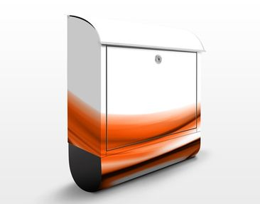 Product picture Design Letter Box Orange Touch...