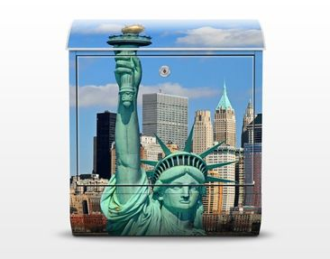 Product picture Design Letter Box New York Skyline...