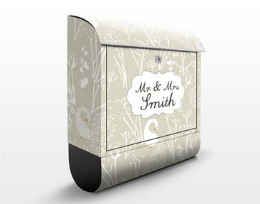 Product picture Design Letter Box Your Own Words Swan...