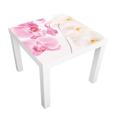 Product picture Design Table Delicate Orchids 55x55x45cm