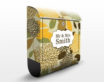 Product picture Design Letter Box Your Own Words Vintage...