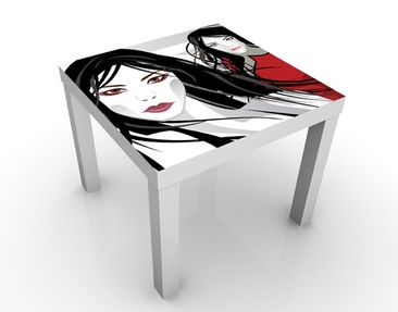 Product picture Design Table Asian Girl 55x55x45cm