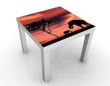 Produktfoto Design Table African Elefant Family...