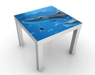 Produktfoto Beistelltisch - Fish in the Sea  - Tisch Blau