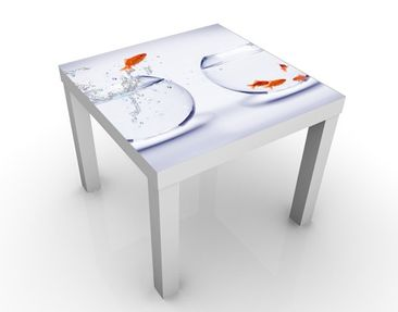 Produktfoto Design Table Flying Goldfish 55x55x45cm