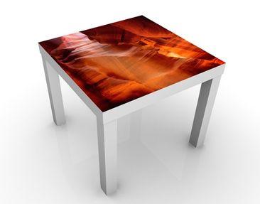 Produktfoto Beistelltisch - Antelope Canyon - Tisch Orange