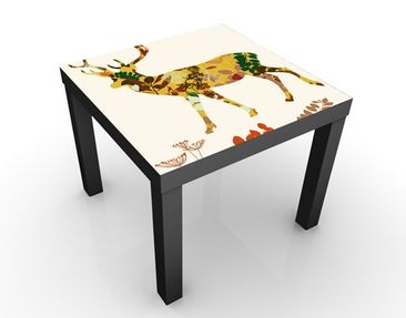 Product picture Design Table Floral Deer 55x55x45cm