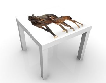 Produktfoto Design Table Trakehnermare & Foal...