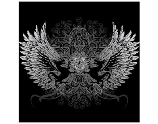 Produktfoto Beistelltisch - Drachenflügel - Tisch Grau Schwarz