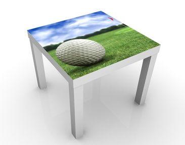 Produktfoto Beistelltisch - Golfball - Tisch Grün Weiß Blau