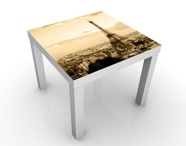 Product picture Design Table I Love Paris 55x55x45cm