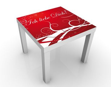 Product picture Design Table Ich liebe Dich 55x55x45cm