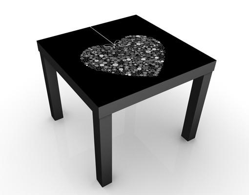 Produktfoto Beistelltisch - Heart Giveaway - Tisch Schwarz