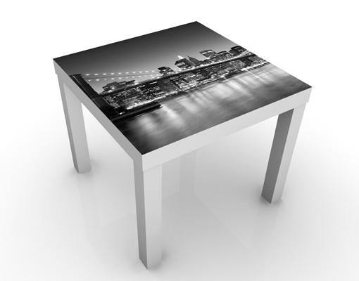 Produktfoto Beistelltisch - Brooklyn Brücke in New York II - Tisch Grau