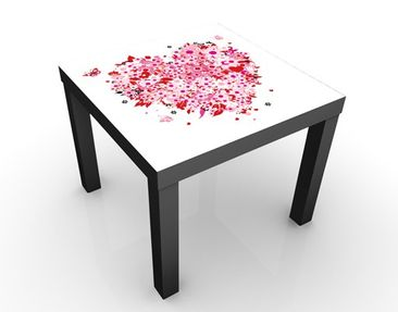 Product picture Design Table Floral Retro Heart...