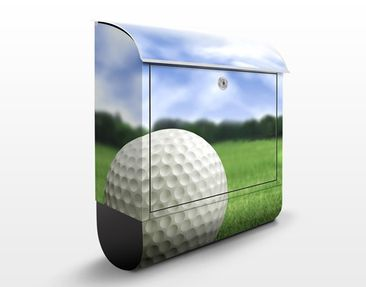 Product picture Design Letter Box Golfball 39x46x13cm