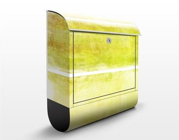 Product picture Design Letter Box Colour Harmony Yellow...
