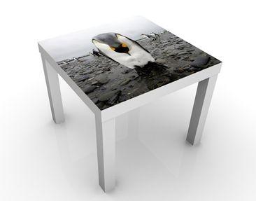 Produktfoto Beistelltisch - Pinguin - Tisch Grau Schwarz