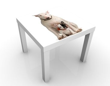 Immagine del prodotto Tavolino design Bull Terrier And Friend 55x55x45cm