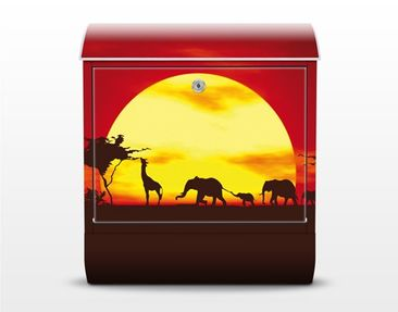 Product picture Design Letter Box no.CG80 Sunset Caravan...