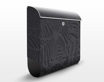 Product picture Design Letter Box no.DS3 Zebra Crossing...