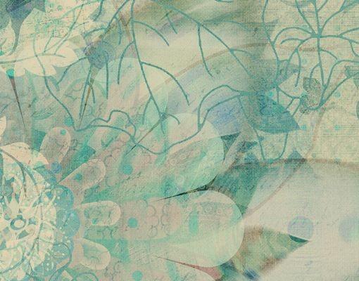 Produktfoto Briefkasten mit Zeitungsfach - Eisblumen - Briefkasten Blumen