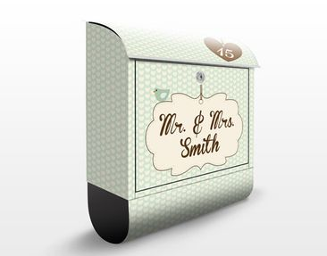 Product picture Design Letter Box no.FB207 Your Own...