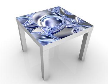 Produktfoto Beistelltisch - Liquid Smoke  - Tisch Blau