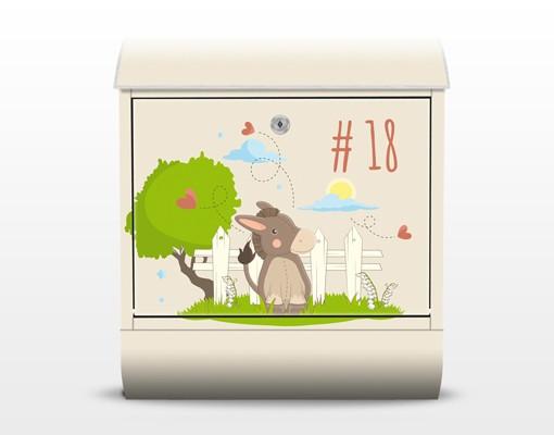 Produktfoto Briefkasten mit eigenem Text &...