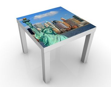Product picture Design Table New York Skyline 55x55x45cm