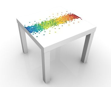 Product picture Design Table Pixel Rainbow 55x55x45cm