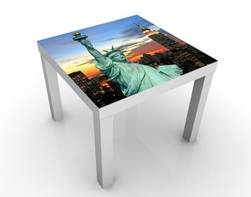 Produktfoto Design Tisch New York At Night 55x55x45cm