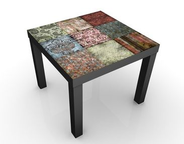Product picture Design Table Old Patterns 55x55x45cm
