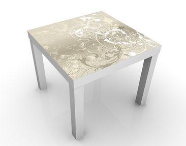 Produktfoto Design Tisch Perlmutt Ornament Design 55x55x45cm