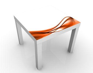 Produktfoto Beistelltisch - Orange Touch - Tisch Orange Weiß