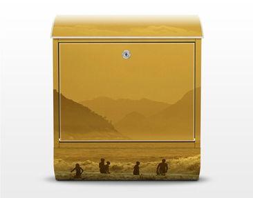 Product picture Design Letter Box Gold Coast 39x46x13cm