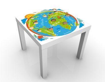 Produktfoto Beistelltisch - No.EK129 Kinderwelt - Tisch Grün