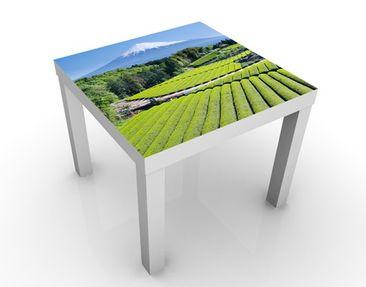 Produktfoto Beistelltisch - Teefelder vor dem Fuji - Tisch Grün