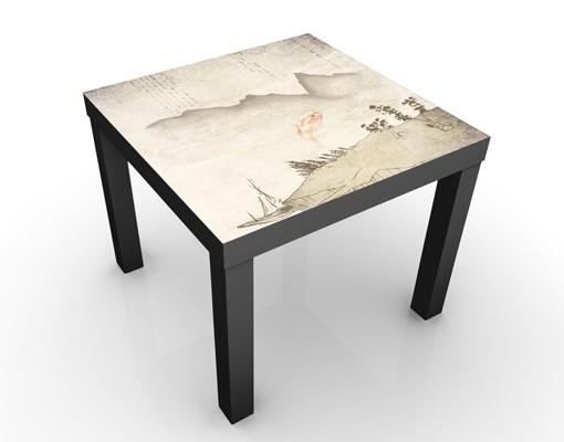 Beistelltisch no mw8 japanische stille tisch beige for Tisch japanisches design