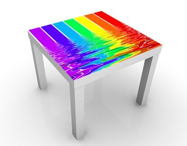 Product picture Design Table Rainbow Coloured 55x55x45cm