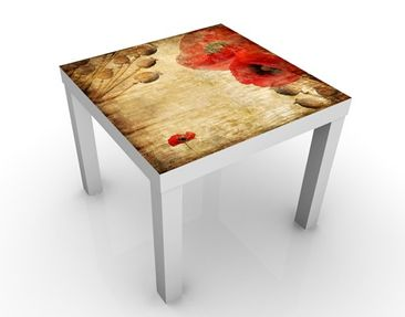 Produktfoto Design Table Poppy Flower 55x55x45cm