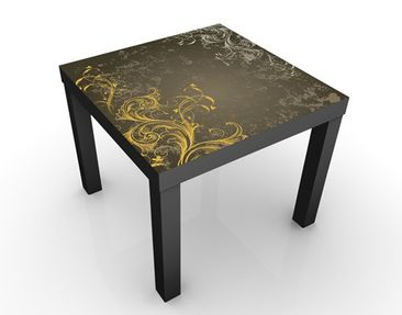 Product picture Design Table Curlicues In Gold And...