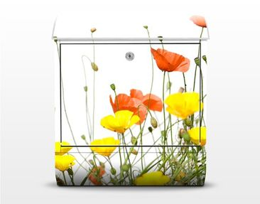 Product picture Design Letter Box Wild Flowers...