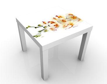 Produktfoto Beistelltisch - Vivid Orchid Waters - Tisch Gelb Weiß