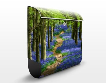 Produktfoto Briefkasten mit Zeitungsfach - Wanderweg In Hertforshire - Hausbriefkasten