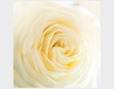 Product picture Design Table White Rose 55x55x45cm