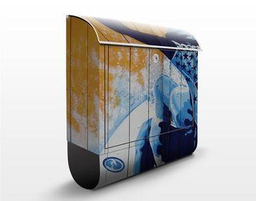 Produktfoto Design Letter Box Surfing 39x46x13cm