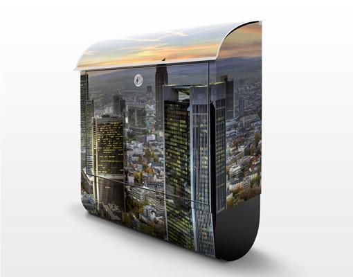 Produktfoto Briefkasten mit Zeitungsfach - MAINhattan - Frankfurt