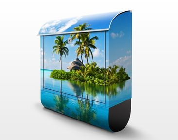 Product picture Design Letter Box Tropical Paradise...