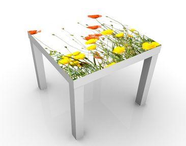 Produktfoto Beistelltisch - Wild Flowers - Tisch Gelb Weiß